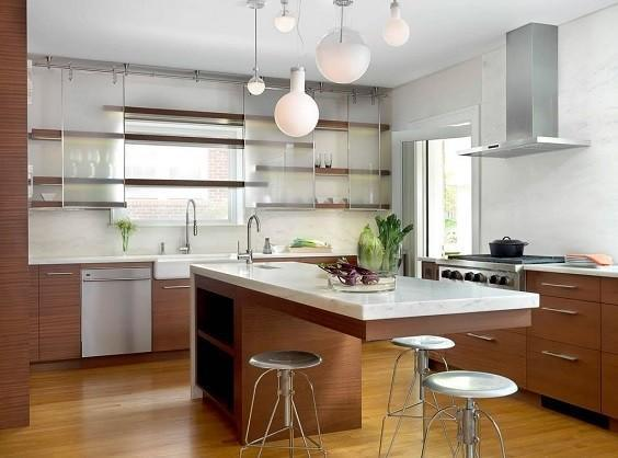 how to decorate a small kitchen 4