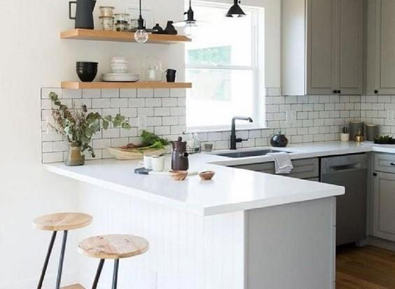 how to decorate a small kitchen