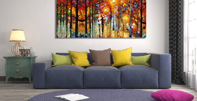 A Quick Guide on How to Choose Living Room Art for a Wonderful Decor