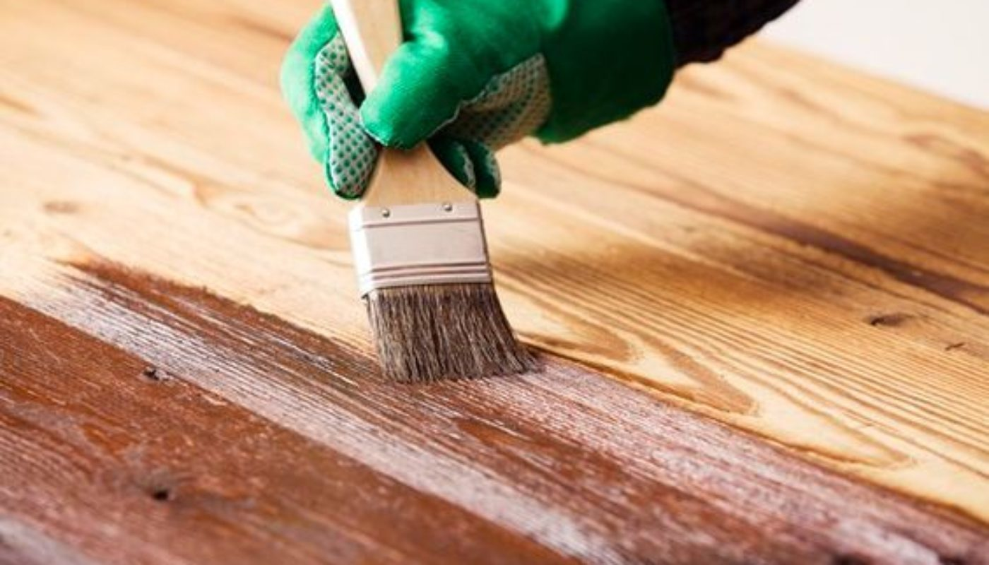 How to Stain Kitchen Cabinets 1